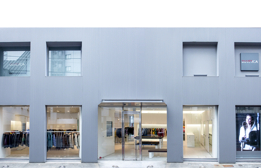 duvetica aoyama store tokyo